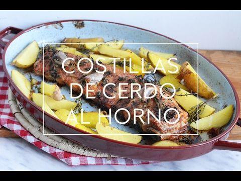 Mari Cocinillas - COMO HACER COSTILLAR COSTILLAS DE CERDO AL HORNO CON PAPATAS DELUXE