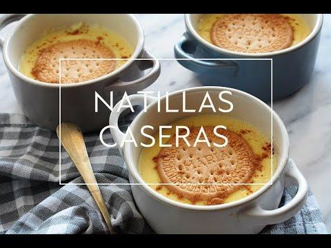 RECETA DE NATILLAS CASERAS EN MICROONDAS  | Las María Cocinillas