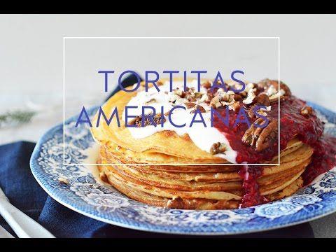 RECETA DE TORTITAS AMERICANAS O PANCAKES FÁCILES Y RÁPIDOS | Las María Cocinillas