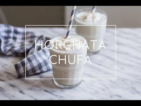 Mari Cocinillas - RECETA DE GRANIZADO DE HORCHATA DE CHUFA | Las María Cocinillas