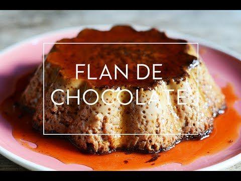 RECETA DE FLAN DE CHOCOLATE  | Las María Cocinillas