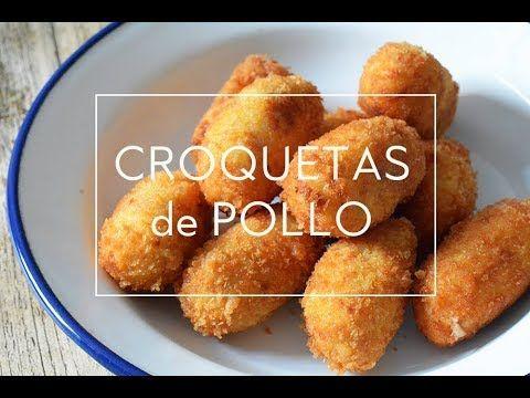 CROQUETAS DE POLLO, RECETA PASO A PASO    Las María Cocinillas