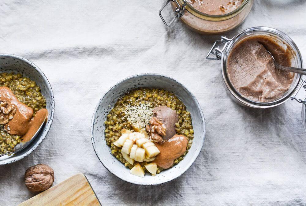 Porridge de trigo sarraceno