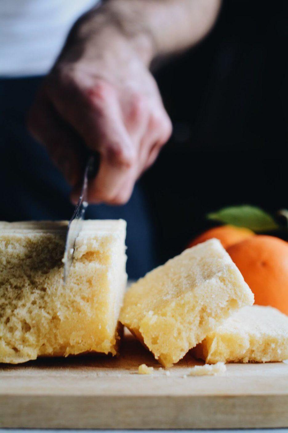 Mari Cocinillas - BIZCOCHO rápido de naranja ¡en 5 minutos! al microondas