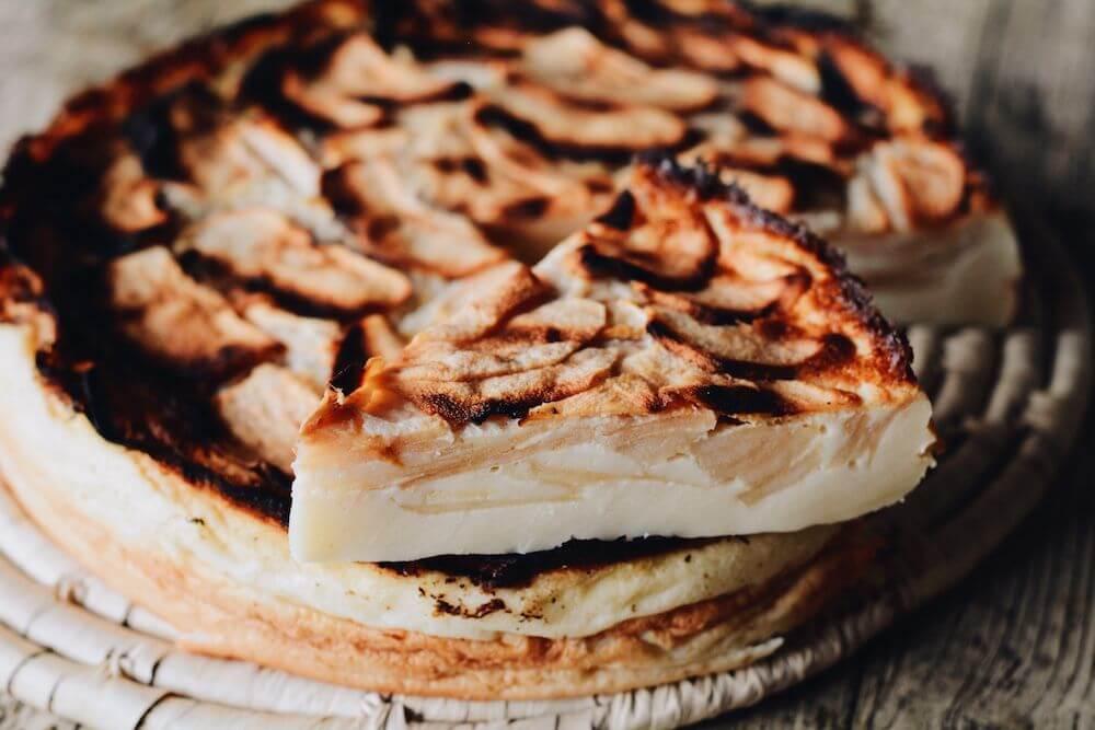 Mi TARTA de MANZANA fácil y rápida. La tarta de manzana más fácil del mundo!!