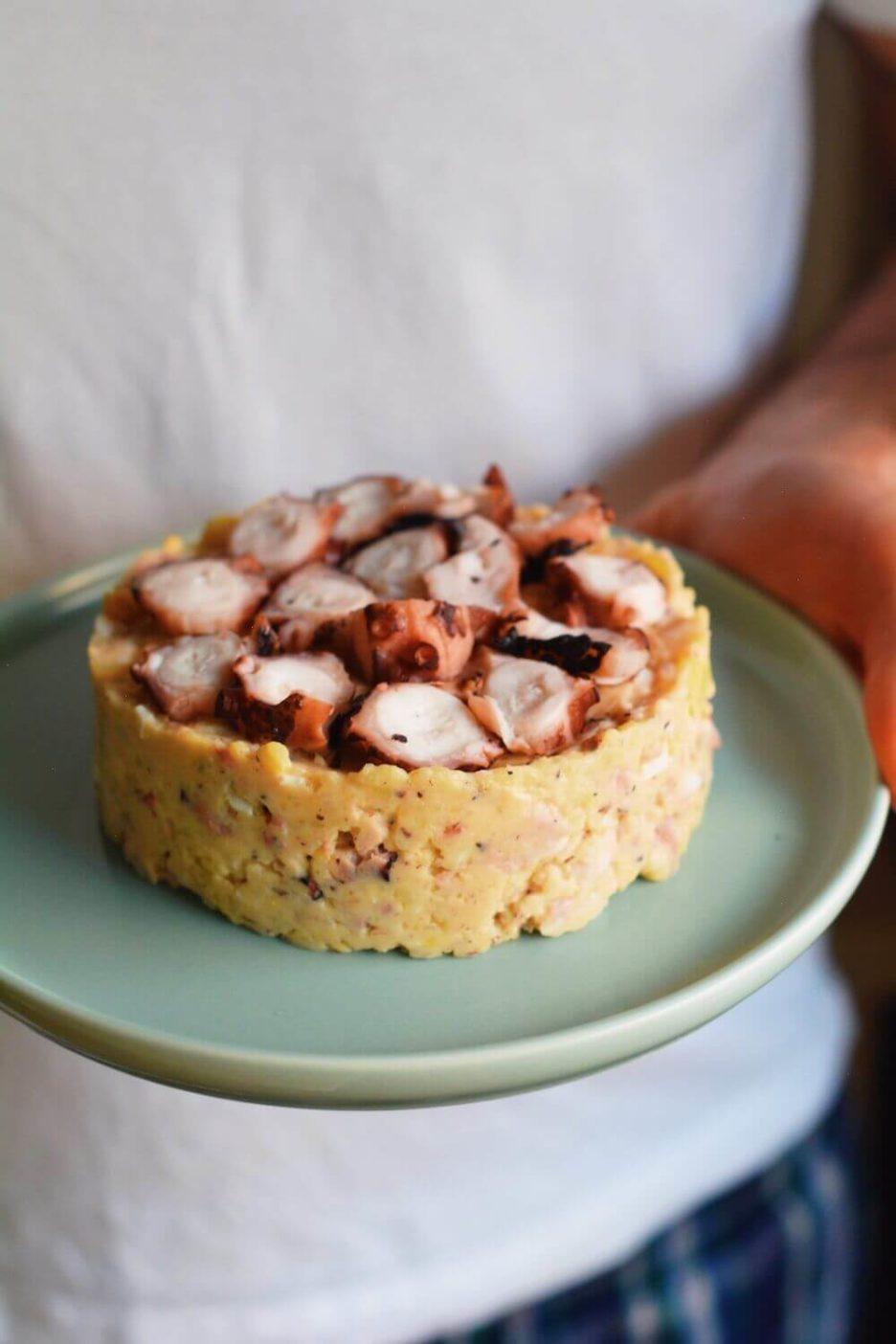 Mari Cocinillas - Ensaladilla de pulpo receta fácil