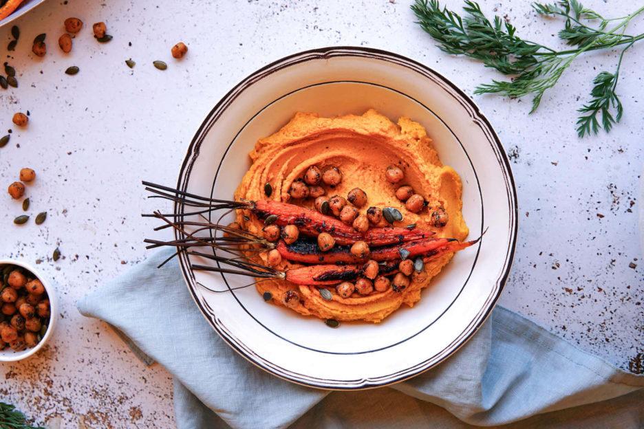 Mari Cocinillas - Hummus de zanahoria