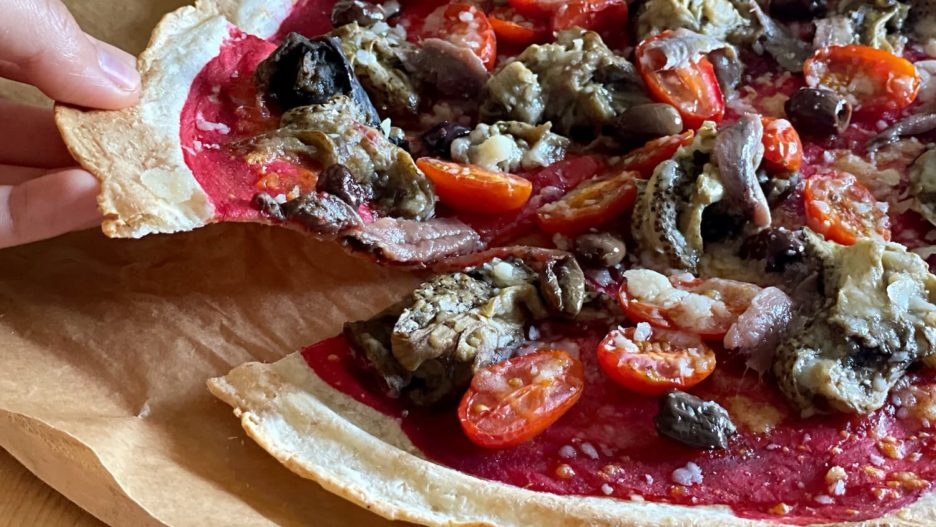 Mari Cocinillas - Receta de masa para pizza de yuca sin gluten