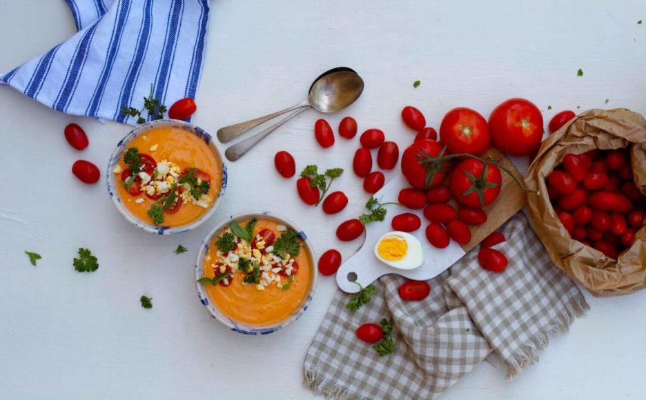 Mari Cocinillas - Como hacer salmorejo sin gluten igual de cremoso y rico que el Salmorejo tradicional