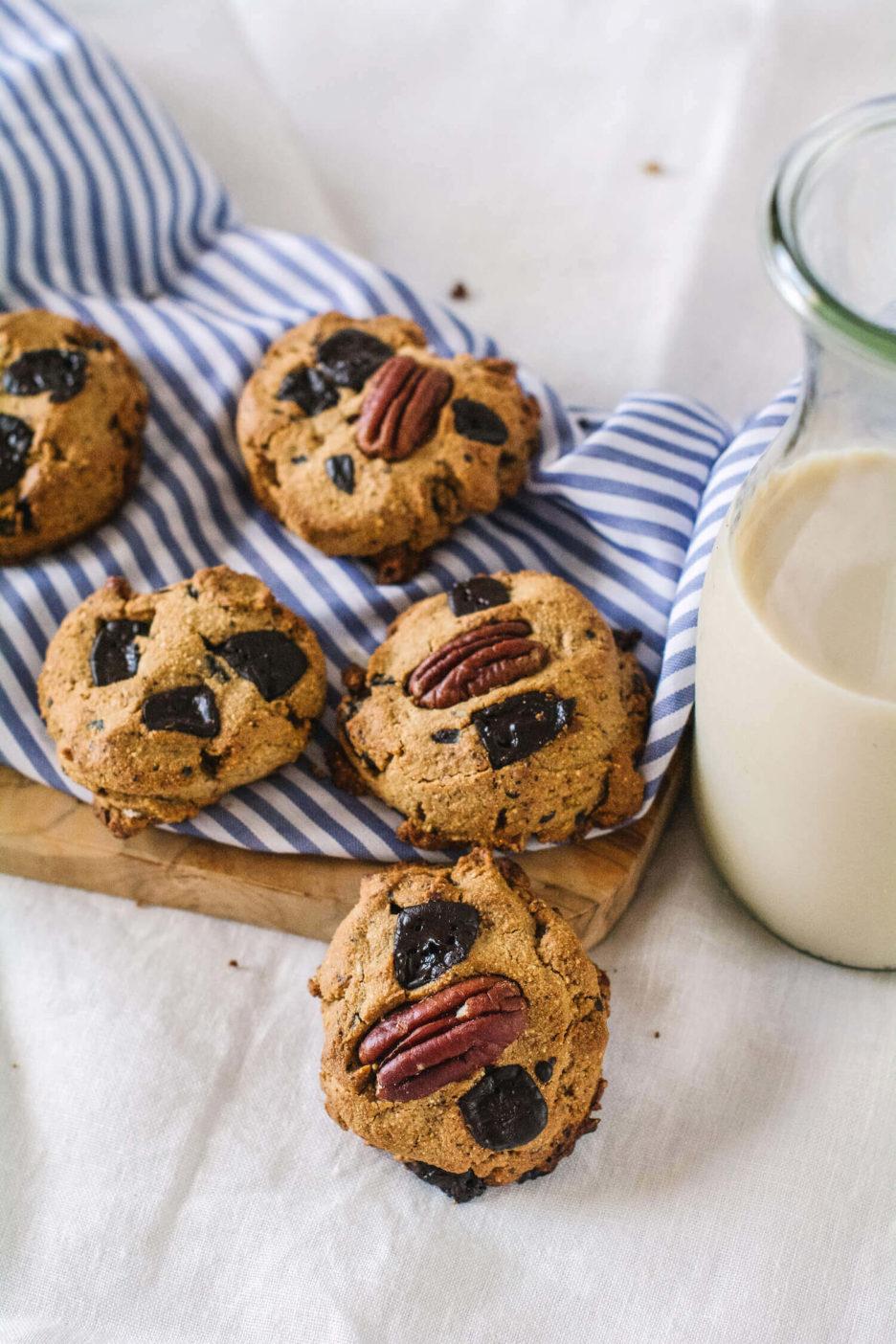 Mari Cocinillas - Como hacer galletas keto con chocolate