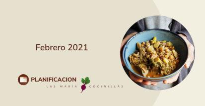 Mari Cocinillas - Febrero 2021