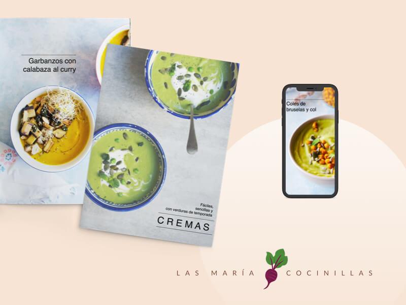 Las Maricocinillas - eBooks - Cremas y Sopas Frias