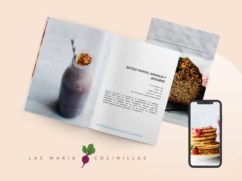 Las Maricocinillas - eBooks - Desayunos y Meriendas sin gluten