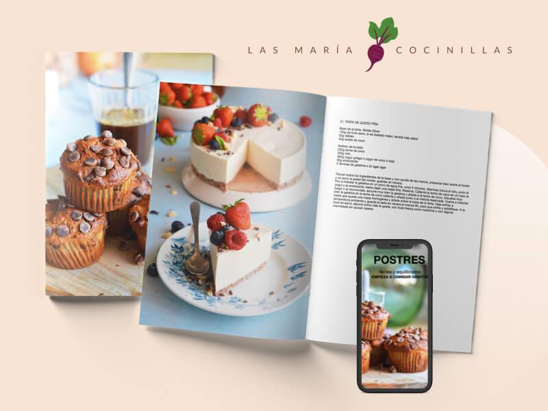 Las Maricocinillas - eBooks - Postres Faciles y Equilibrados