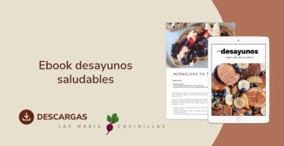 Mari Cocinillas - Ebook desayunos saludables